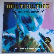 Discos de vinilo: VARIOUS - MULTICULTURE - DANCE WITH A FOREIGNER - 1991 - LP. Lote 48612630
