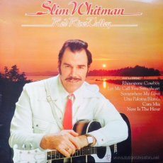 Discos de vinilo: SLIM WHITMAN - RED RIVER VALLEY . LP . 1976 UNITED ARTISTS RECORDS UK - UAS 29993 . Lote 48618291