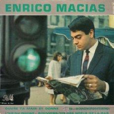 Discos de vinilo: ENRICO MACIAS (EL POROMPOMPERO, EN FRANCÉS). Lote 48620499
