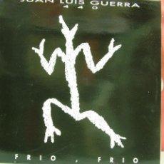 Discos de vinilo: JUAN LUIS GUERRA Y 4:40-FRÍO, FRÍO MAXI SINGLE VINILO 1993 SPAIN. Lote 48625424