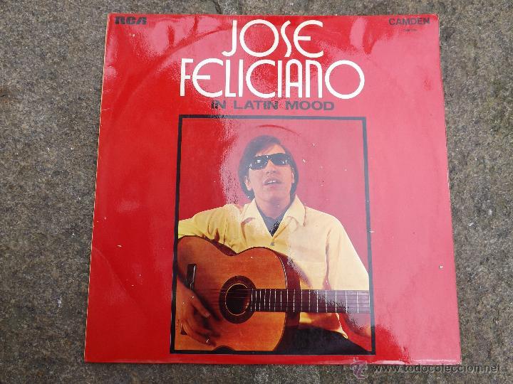 LP JOSE FELICIANO. IN LATIN MOOD. (Música - Discos - LP Vinilo - Grupos y Solistas de latinoamérica)
