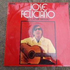 Discos de vinilo: LP JOSE FELICIANO. IN LATIN MOOD.. Lote 48625617