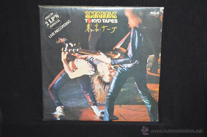 SCORPIONS - TOKYO TAPES - 2 LP (Música - Discos - LP Vinilo - Heavy - Metal)