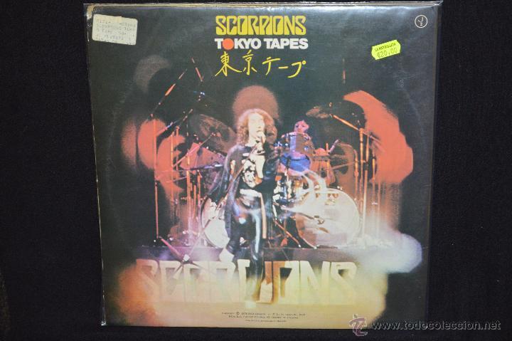Discos de vinilo: SCORPIONS - TOKYO TAPES - 2 LP - Foto 2 - 48627146