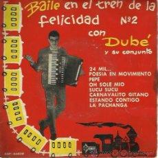 Discos de vinilo: DUBE EP SELLOSAEF AÑO 1961. Lote 48631788