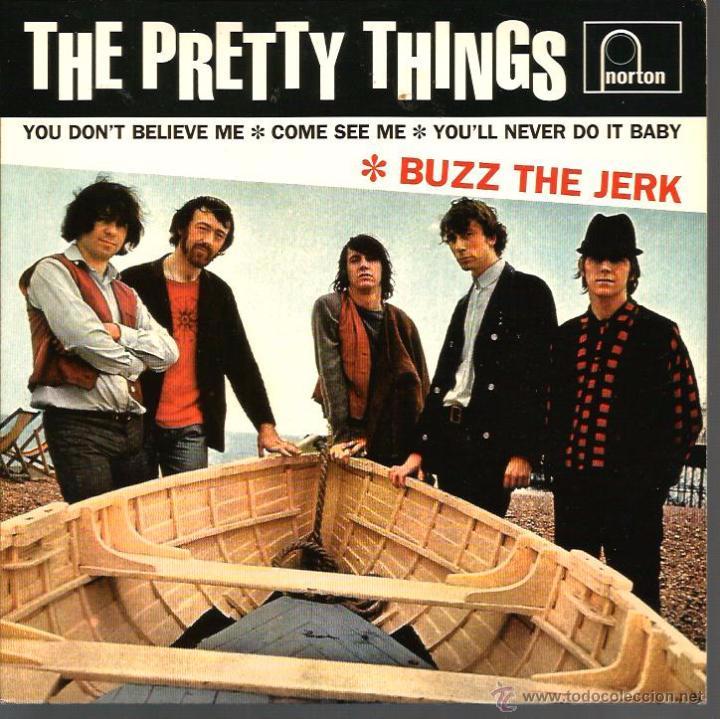 EP THE PRETTY THINGS : BUZZ THE JERK (Música - Discos de Vinilo - EPs - Pop - Rock Internacional de los 50 y 60)