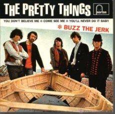 Discos de vinilo: EP THE PRETTY THINGS : BUZZ THE JERK . Lote 48632066