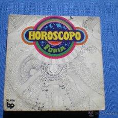 Discos de vinilo: FURIA SG BP 1972 HOROSCOPO/ VUELVO AL HOGAR HARD ROCK (EX GATOS NEGROS) GATEFOLD. Lote 48634696