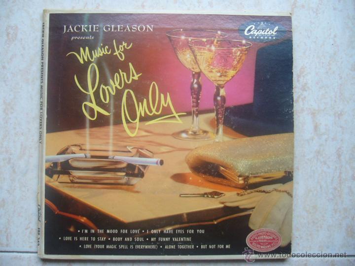 JACKIE GLEASON - MUSIC FOR LOVERS ONLY (DOBLE EP) (Música - Discos de Vinilo - EPs - Orquestas)