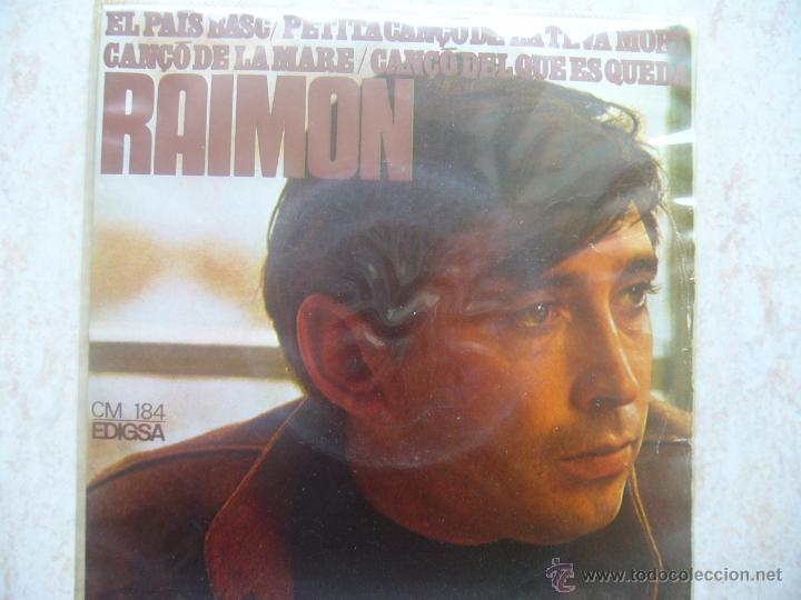 RAIMON - EL PAIS BASC +3 (Música - Discos de Vinilo - EPs - Cantautores Españoles)