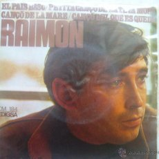 Discos de vinilo: RAIMON - EL PAIS BASC +3. Lote 48637080