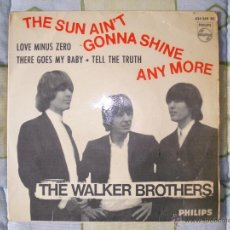 Discos de vinilo: THE WALKER BROTHERS - THE SUN AIN´T GONNA SHINE ANYMORE. Lote 48640153