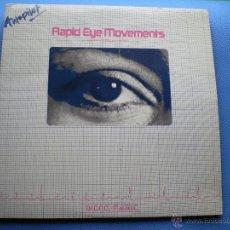 Discos de vinilo: AUTOPILOT RAPID EYE MOVEMENT DOBLE LP 1981 CARPETA GATEFOLD PDELUXE. Lote 48643689