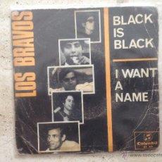 Discos de vinilo: LOS BRAVOS - BLACK IS BLACK + 1. Lote 48647274