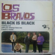 Discos de vinilo: LOS BRAVOS - BLACK IS BLACK. Lote 48648992