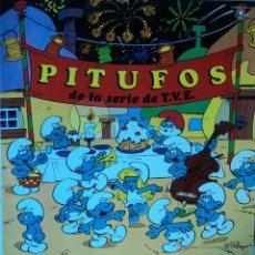 Discos de vinilo: PITUFOS - DE LA SERIE DE TVE - EDICIÓN DE 1983 DE ESPAÑA - PROMO. Lote 48649402