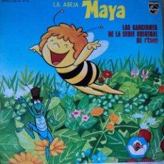 Discos de vinilo: LA ABEJA MAYA - LAS CANCIONES DE LA SERIE DE TVE - EDICIÓN DE 1978 DE ESPAÑA. Lote 48650052