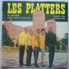 Discos de vinilo: LES PLATTERS - MY SERENADE +3. Lote 48650130