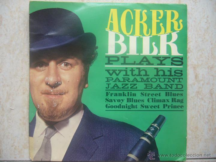 ACKER BILK PLAYS WITH HIS PARAMOUNT JAZZ BAND (Música - Discos de Vinilo - EPs - Jazz, Jazz-Rock, Blues y R&B)