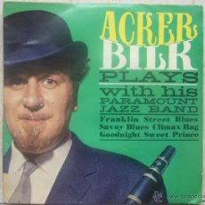 Discos de vinilo: ACKER BILK PLAYS WITH HIS PARAMOUNT JAZZ BAND. Lote 48650445