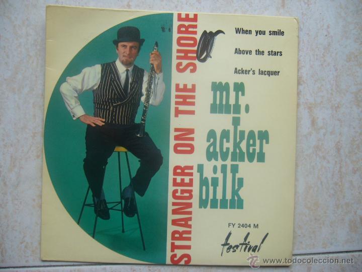 MR. ACKER BILK - STRANGER ON THE SHORE (Música - Discos de Vinilo - EPs - Jazz, Jazz-Rock, Blues y R&B)