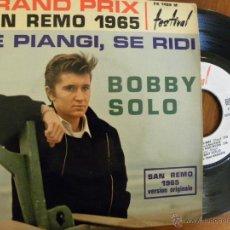 Discos de vinilo: BOBBY SOLO -EP -EDICION FRANCESA. Lote 48650516