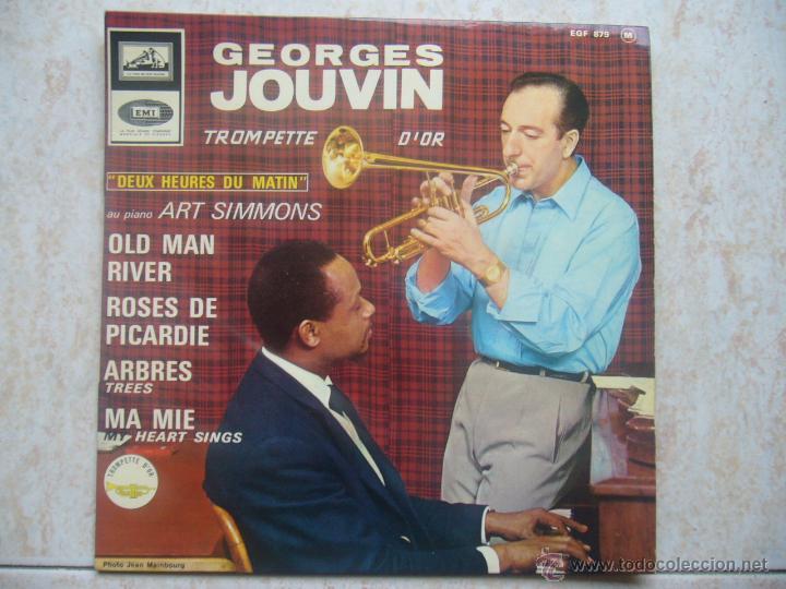 GEORGES JOUVIN - OLD MAN RIVER +3 (Música - Discos de Vinilo - EPs - Orquestas)