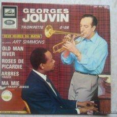 Discos de vinilo: GEORGES JOUVIN - OLD MAN RIVER +3. Lote 48651056