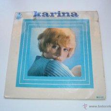 Discos de vinilo: KARINA - EP HISPAVOX - 1966 - VIVIRE HIERBA VERDE EL CINEMA MI AMOR. Lote 48654037