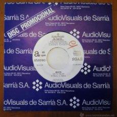 Discos de vinilo: BRAMS, SOC EL MILLOR (AV SARRIA 1992) SINGLEL PROMOCIONAL DE 1 SOLA CARA - FRANCESC RIBERA TITOT. Lote 48654881