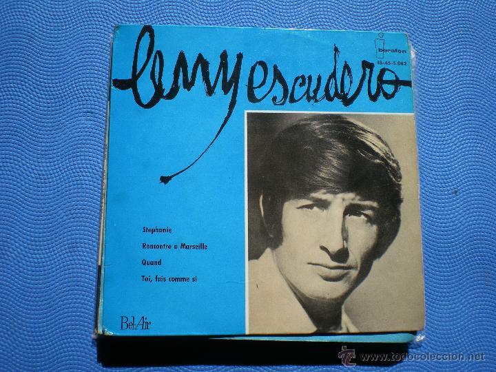 LENY ESCUDERO `STEPHANIE` EP 1964 (Música - Discos de Vinilo - EPs - Canción Francesa e Italiana)