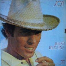Discos de vinilo: JULIO IGLESIAS - SOY - EDICIÓN DE 1973 DE ESPAÑA - CON POSTER. Lote 48656304