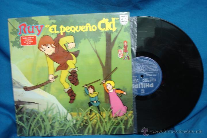 - RUY , EL PEQUEÑO CID - BANDA SONORA ORIGINAL - PHILIPS 1980 - EDICIÓN ESPECIAL (Música - Discos - LPs Vinilo - Música Infantil)