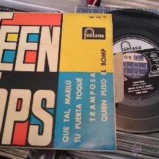 Discos de vinilo: LOS TEEN TOPS QUE TAL MARILU TU PUERTA TOQUE EP DISCO DE VINILO FONTANA. Lote 48656387