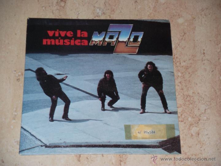 MAZO - VIVE LA MUSICA PARTES I Y II - SPANISH HEAVY METAL-1982- (Música - Discos - Singles Vinilo - Grupos Españoles de los 70 y 80)