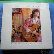 Discos de vinilo: SARA HICKMAN SHORT STOP LP GERMANY 1990 CON ENCARTE PDELUXE. Lote 48657875
