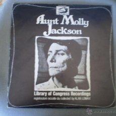 Discos de vinilo: LP. AUNT MOLLY JACKSON. AÑO 1978. BUENA CONSERVACION. Lote 48661468
