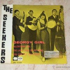 Discos de vinilo: THE SEEKERS - GEORGY GIRL+3- EDICION ESPAÑOLA. Lote 48661737