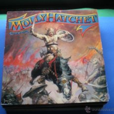 Discos de vinilo: MOLLYHATCHET BEATIN THE ODDS LP SPAIN 1988 PDELUXE. Lote 48664231
