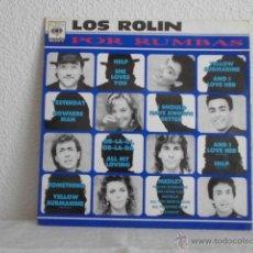 Discos de vinilo: LOS ROLIN POR RUMBAS-LP 1991-CANCIONES DE THE BEATLES. Lote 48669258