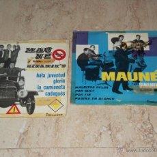 Discos de vinilo: MAUNE Y SUS DINAMIK'S- LOTE DOS EP-. Lote 48685017