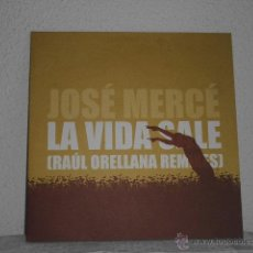 Discos de vinilo: MAXI SINGLE JOSE MERCE- LA VIDA SALE. Lote 48687128