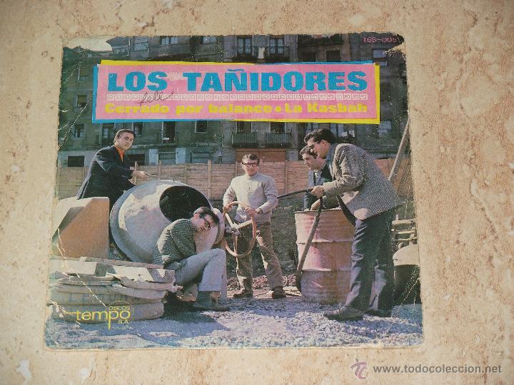 LOS TAÑIDORES- / CERRADO POR BALANCE / LA KASBAH. / TEMPO-1966- ( PRIMER GRUPO DE IÑAKI EGAÑA,) (Música - Discos de Vinilo - Maxi Singles - Grupos Españoles de los 70 y 80)