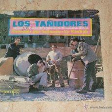 Discos de vinilo: LOS TAÑIDORES- / CERRADO POR BALANCE / LA KASBAH. / TEMPO-1966- ( PRIMER GRUPO DE IÑAKI EGAÑA,). Lote 48688197