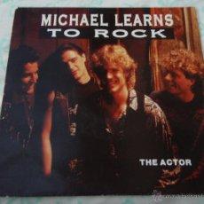 Discos de vinilo: MICHAEL LEARNS TO ROCK ( THE ACTOR - AFRICAN QUEEN ) 1991-HOLANDA SINGLE45 MEDLEY RECORDS. Lote 211731543