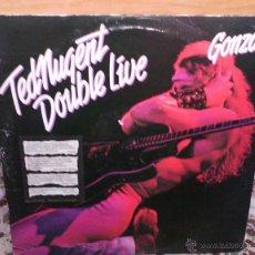 Discos de vinilo: TED NUGENT LIVE GONZO 2 LP (USA). Lote 48694006