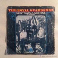 Discos de vinilo: THE ROYAL GUARDSMEN - SINGLE ESPAÑA 1967. Lote 48706921