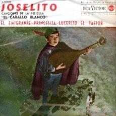 Discos de vinilo: JOSELITO - EP SINGLE VINILO - EDITADO EN FRANCIA - EL EMIGRANTE + 3 - RCA VICTOR 1962. Lote 48709623