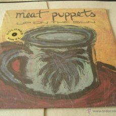 MEAT PUPPETS LP UP IN THE SUN REEDICIÓN SST VINILO AMARILLO + ENCARTE USA 1990