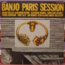 Discos de vinilo: BANJO PARIS SESSION - SELLO GUINBARDA. Lote 57920516